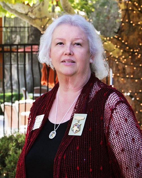 Christel Fisher Associate Grand Conductress 2019-2020